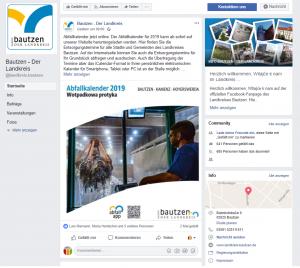 Facebook-Auftritt des LRA Bautzen